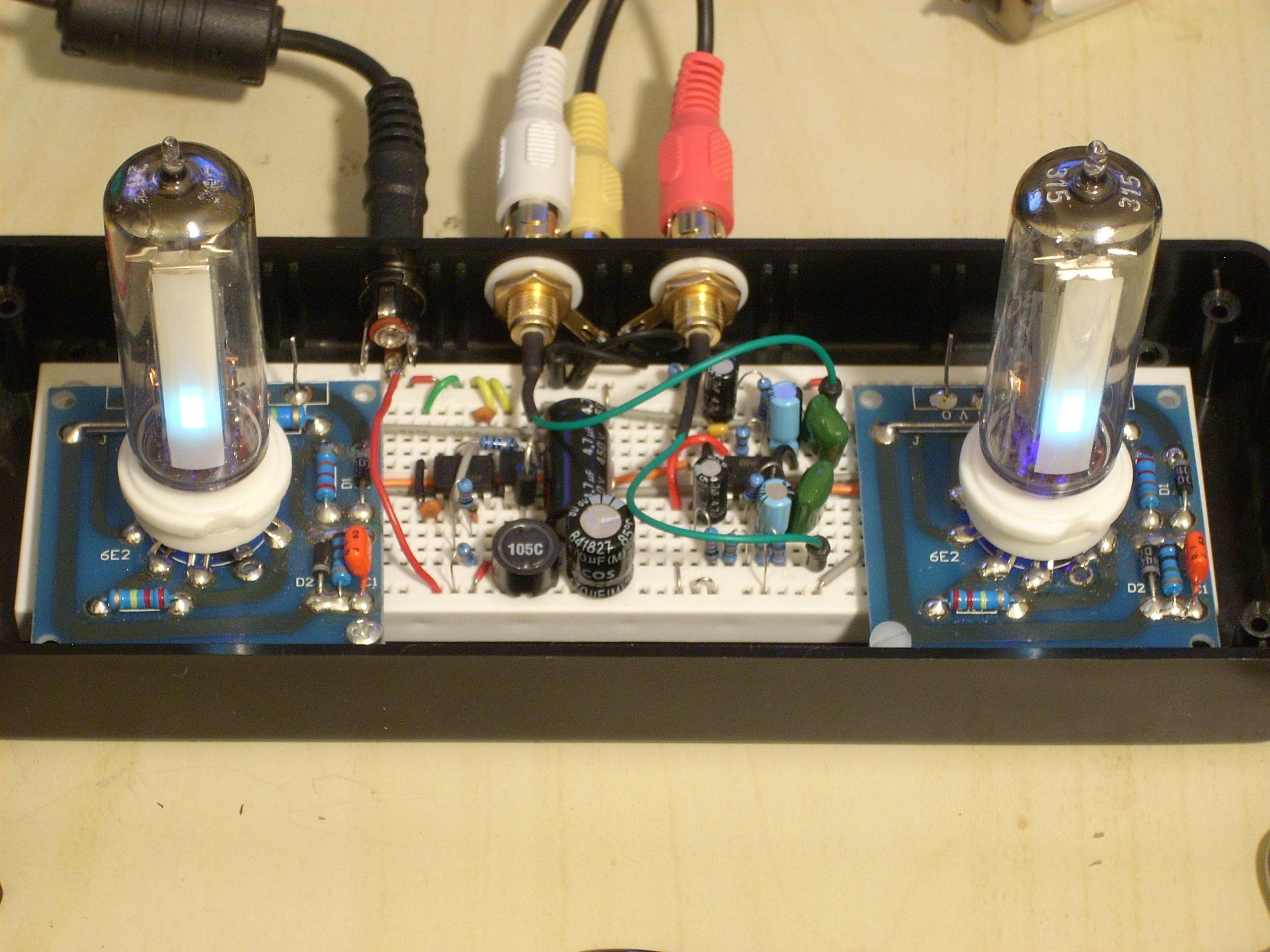 Bursting With Adequacy How To Build Vu Meter 1 Circuit Diagram Magic Eye